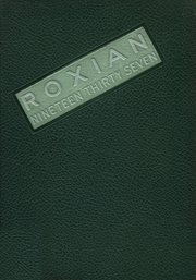 1937 Edition, McKees Rocks High School - Roxian Yearbook (McKees Rocks, PA)