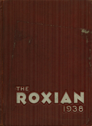1938 Edition, McKees Rocks High School - Roxian Yearbook (McKees Rocks, PA)