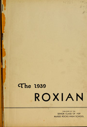 Page 3, 1939 Edition, McKees Rocks High School - Roxian Yearbook (McKees Rocks, PA) online yearbook collection
