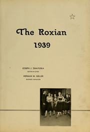 Page 5, 1939 Edition, McKees Rocks High School - Roxian Yearbook (McKees Rocks, PA) online yearbook collection