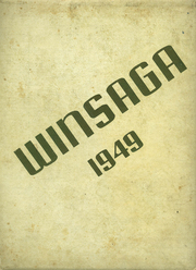 Winston County High School - Winsaga Yearbook (Double Springs, AL) online yearbook collection, 1949 Edition, Page 1