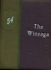 Winston County High School - Winsaga Yearbook (Double Springs, AL) online yearbook collection, 1954 Edition, Page 1