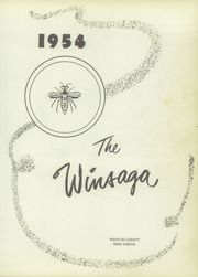 Page 5, 1954 Edition, Winston County High School - Winsaga Yearbook (Double Springs, AL) online yearbook collection