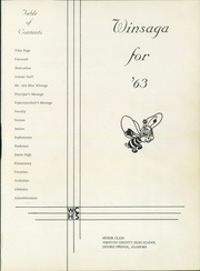 Page 3, 1963 Edition, Winston County High School - Winsaga Yearbook (Double Springs, AL) online yearbook collection