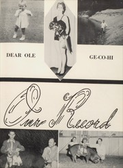 Page 9, 1959 Edition, Geneva County High School - Gecorala Yearbook (Hartford, AL) online yearbook collection
