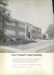 Page 6, 1960 Edition, Clay County High School - Hilites Yearbook (Ashland, AL) online yearbook collection