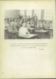 Page 6, 1949 Edition, Randolph County High School - Ran Co We Ala Yearbook (Wedowee, AL) online yearbook collection