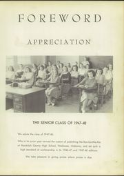 Page 7, 1949 Edition, Randolph County High School - Ran Co We Ala Yearbook (Wedowee, AL) online yearbook collection