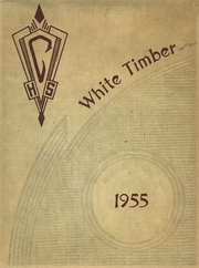 1955 Edition, Cottonwood High School - White Timber Yearbook (Cottonwood, AL)