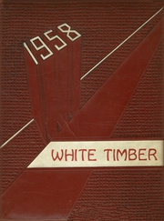 1958 Edition, Cottonwood High School - White Timber Yearbook (Cottonwood, AL)