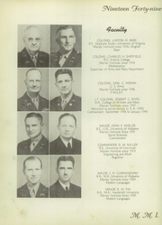 Page 10, 1949 Edition, Marion Military Institute - Orange and Black Yearbook (Marion, AL) online yearbook collection