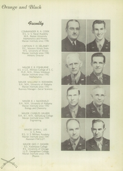 Page 11, 1949 Edition, Marion Military Institute - Orange and Black Yearbook (Marion, AL) online yearbook collection