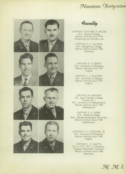 Page 12, 1949 Edition, Marion Military Institute - Orange and Black Yearbook (Marion, AL) online yearbook collection