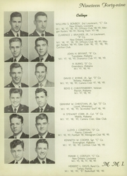 Page 16, 1949 Edition, Marion Military Institute - Orange and Black Yearbook (Marion, AL) online yearbook collection