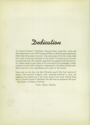 Page 6, 1949 Edition, Marion Military Institute - Orange and Black Yearbook (Marion, AL) online yearbook collection