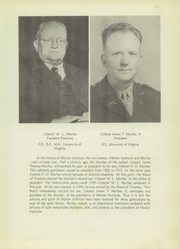 Page 9, 1949 Edition, Marion Military Institute - Orange and Black Yearbook (Marion, AL) online yearbook collection