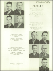 Page 12, 1950 Edition, Marion Military Institute - Orange and Black Yearbook (Marion, AL) online yearbook collection
