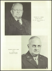 Page 9, 1950 Edition, Marion Military Institute - Orange and Black Yearbook (Marion, AL) online yearbook collection