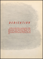 Page 11, 1952 Edition, Parrish High School - Tornado Yearbook (Parrish, AL) online yearbook collection