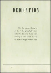 Page 10, 1946 Edition, Alexander City High School - Echo Yearbook (Alexander City, AL) online yearbook collection