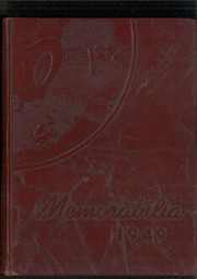 1949 Edition, Bloomsburg High School - Memorabilia Yearbook (Bloomsburg, PA)