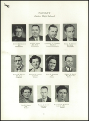 Page 14, 1951 Edition, Bloomsburg High School - Memorabilia Yearbook (Bloomsburg, PA) online yearbook collection