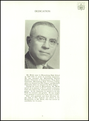 Page 9, 1957 Edition, Bloomsburg High School - Memorabilia Yearbook (Bloomsburg, PA) online yearbook collection