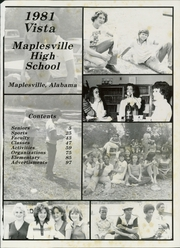 Page 5, 1981 Edition, Maplesville High School - Vista Yearbook (Maplesville, AL) online yearbook collection