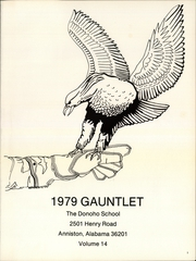 Page 5, 1979 Edition, Donoho School - Gauntlet Yearbook (Anniston, AL) online yearbook collection