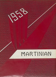 1958 Edition, Martin High School - Martinian Yearbook (Goodsprings, AL)