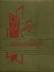1959 Edition, Martin High School - Martinian Yearbook (Goodsprings, AL)