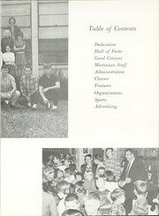 Page 7, 1968 Edition, Martin High School - Martinian Yearbook (Goodsprings, AL) online yearbook collection