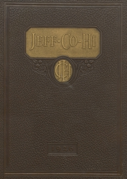 Page 1, 1926 Edition, Jefferson County High School - Jeffersonian Yearbook (Tarrant, AL) online yearbook collection