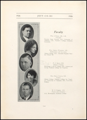 Page 12, 1926 Edition, Jefferson County High School - Jeffersonian Yearbook (Tarrant, AL) online yearbook collection