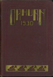 Page 1, 1930 Edition, Punahou High School - Oahuan Yearbook (Honolulu, HI) online yearbook collection