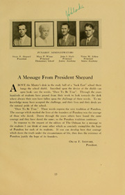 Page 13, 1930 Edition, Punahou High School - Oahuan Yearbook (Honolulu, HI) online yearbook collection