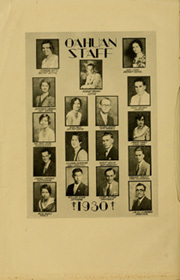 Page 8, 1930 Edition, Punahou High School - Oahuan Yearbook (Honolulu, HI) online yearbook collection