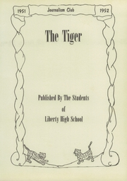 Page 7, 1952 Edition, Liberty High School - Tiger Yearbook (Reform, AL) online yearbook collection