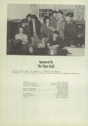 Page 8, 1952 Edition, Liberty High School - Tiger Yearbook (Reform, AL) online yearbook collection