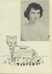 Page 9, 1952 Edition, Liberty High School - Tiger Yearbook (Reform, AL) online yearbook collection