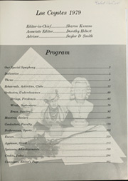 Page 5, 1979 Edition, Buena Park High School - Los Coyotes Yearbook (Buena Park, CA) online yearbook collection