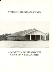 Page 5, 1984 Edition, Atmore Christian High School - Reflections (Atmore, AL) online yearbook collection
