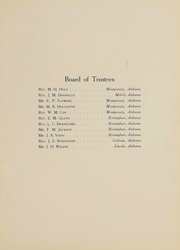 Page 14, 1920 Edition, Huntingdon College - Bells and Pomegranates Yearbook (Montgomery, AL) online yearbook collection