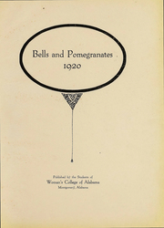 Page 3, 1920 Edition, Huntingdon College - Bells and Pomegranates Yearbook (Montgomery, AL) online yearbook collection