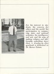 Page 7, 1971 Edition, Huntingdon College - Bells and Pomegranates Yearbook (Montgomery, AL) online yearbook collection