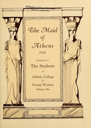 Page 7, 1928 Edition, Athens State College - Columns Yearbook (Athens, AL) online yearbook collection