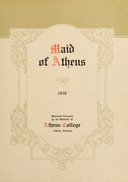 Page 7, 1930 Edition, Athens State College - Columns Yearbook (Athens, AL) online yearbook collection