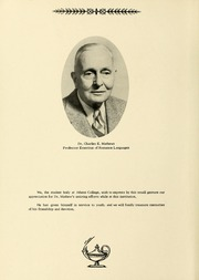 Page 8, 1955 Edition, Athens State College - Columns Yearbook (Athens, AL) online yearbook collection