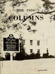 Page 5, 1959 Edition, Athens State College - Columns Yearbook (Athens, AL) online yearbook collection