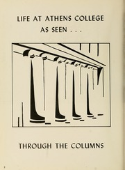 Page 6, 1960 Edition, Athens State College - Columns Yearbook (Athens, AL) online yearbook collection